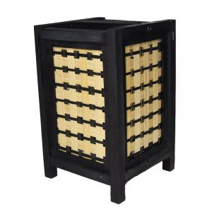 бамбукова лампа