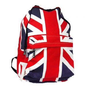 раница британски флаг