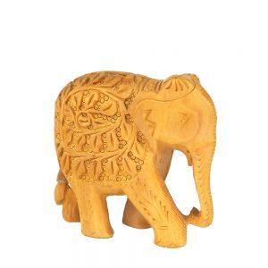 слон дърворезба