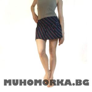 къса пола с сърчеца