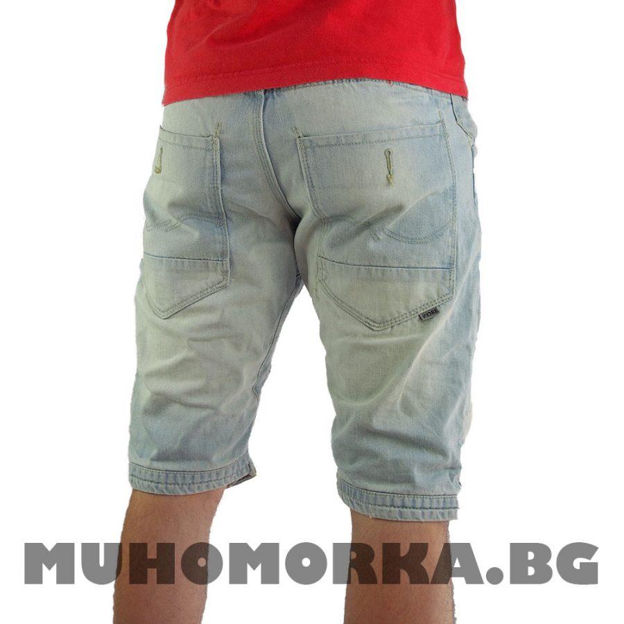мъжки шорти дънки
