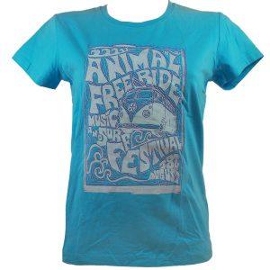 тениска синя