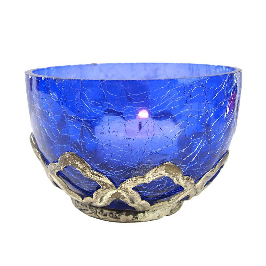 стъклен свещник