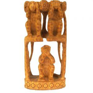 дървени маймунки