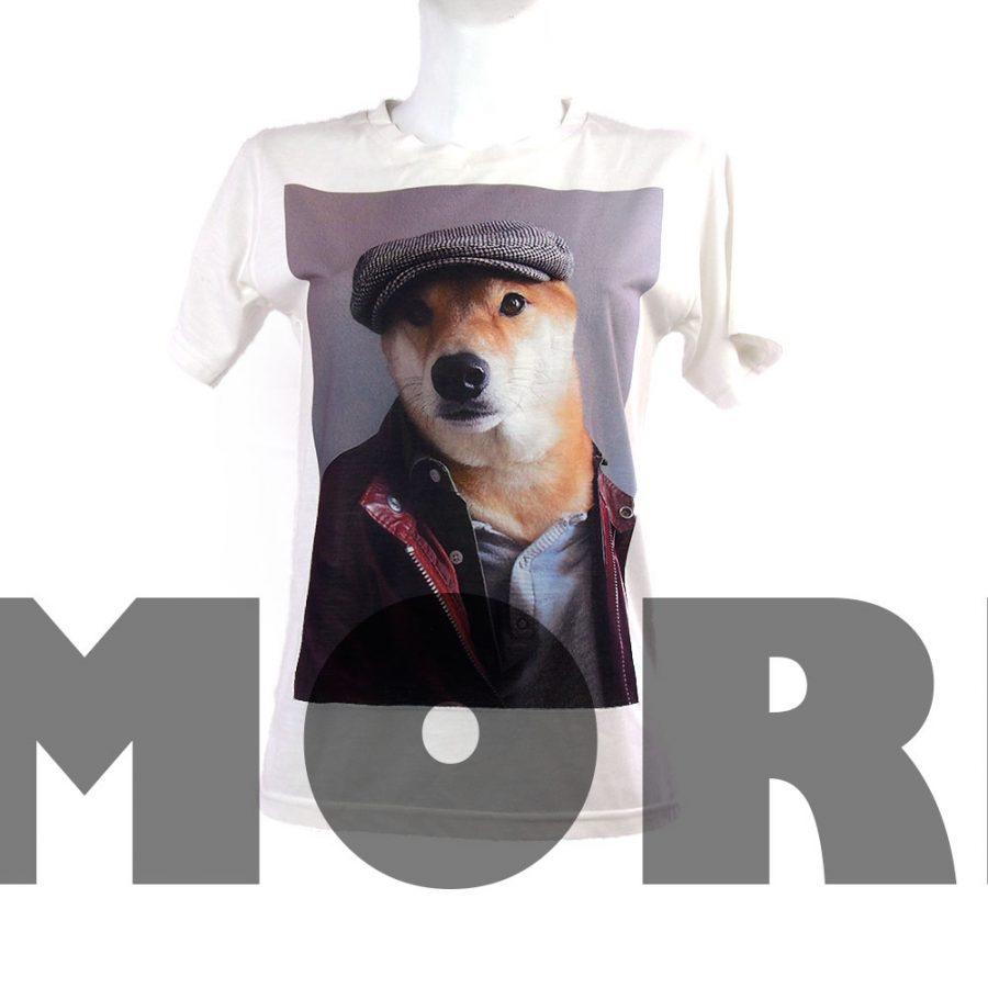 Тениска хипстер пес
