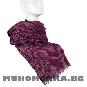 розов шал