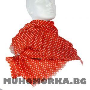 шал на точици