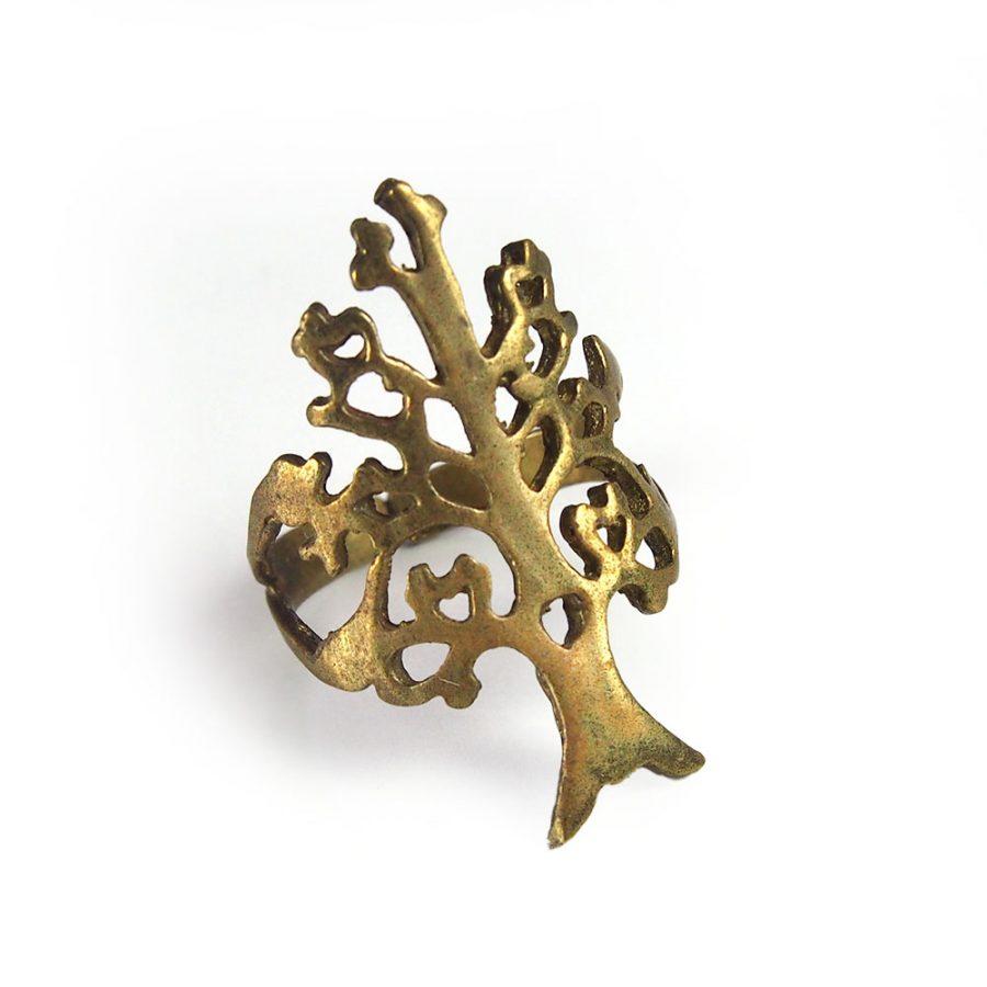 месингов пръстен дъво на живота
