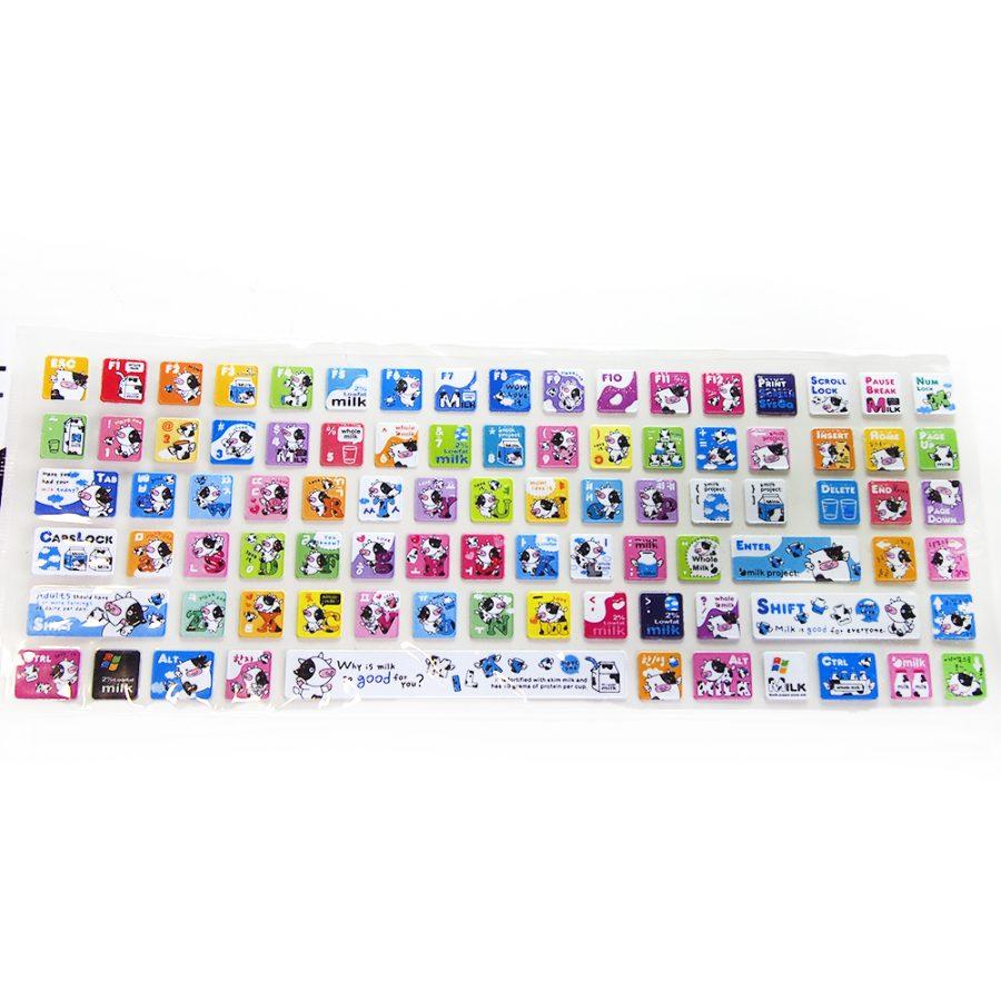 цветни лепенки за клавиатура